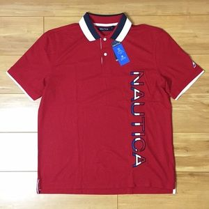 Nautical Wicking Stain Release Polo Shirt